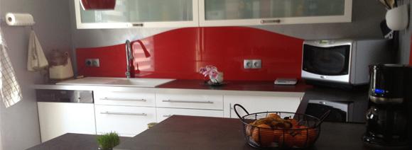 Cr dence d co rev tement mural d coratif pour plan de - Credence originale pour cuisine ...