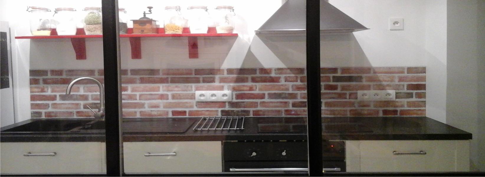 Panneau credence cuisine credence crdence murale de - Panneau credence cuisine ...