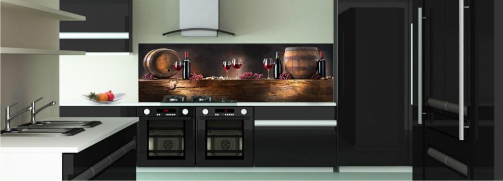 d co cave cr dence gastronomie toutes les cr dences gastronomie pour votre cuisine sur. Black Bedroom Furniture Sets. Home Design Ideas