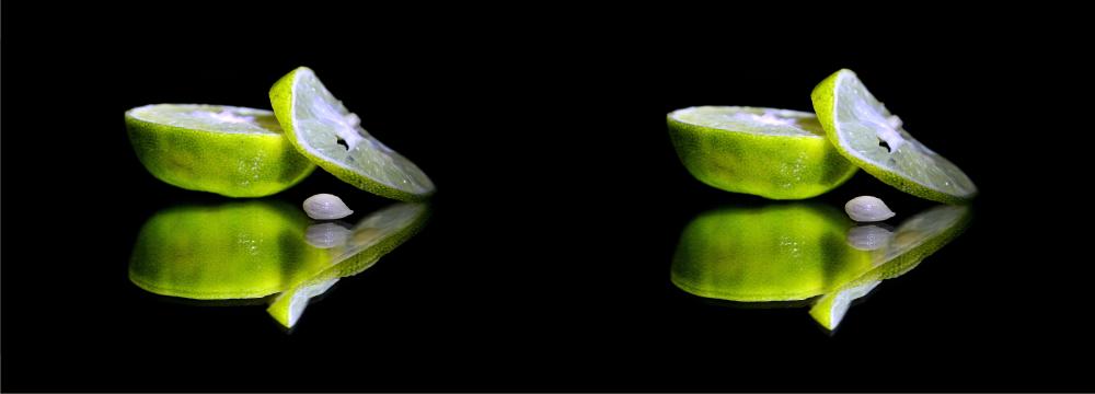 D co citron vert cr dence toutes les cr dences pour - Fond de hotte verre sur mesure ...