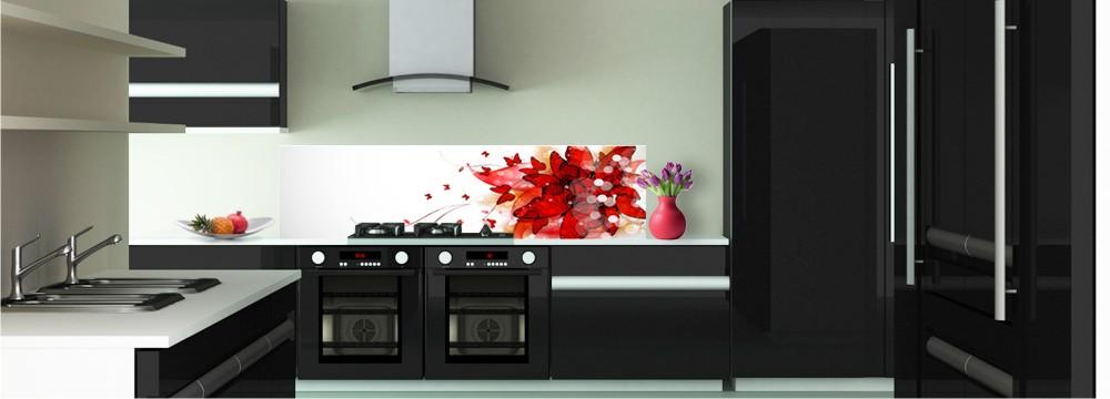 d co floral cr dence nature toutes les cr dences nature pour votre cuisine sur cr dence d co. Black Bedroom Furniture Sets. Home Design Ideas
