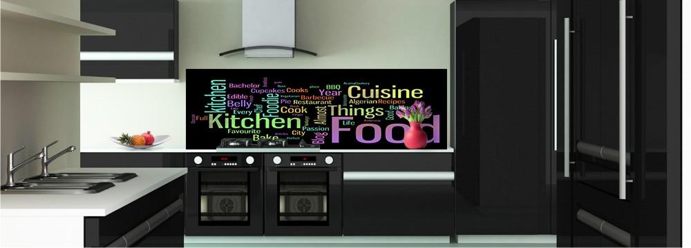 D co kitchen tendance cr dence toutes les cr dences - Panneaux adhesifs pour credence ...