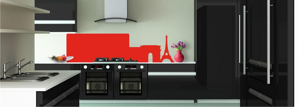 Simple paris cr dence noir toutes les cr dences noir pour votre cuisine su - Vente cuisine en ligne ...
