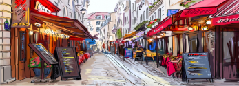 Déco Montmartre Illustration
